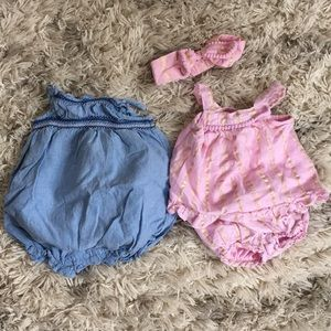 2 summer rompers
